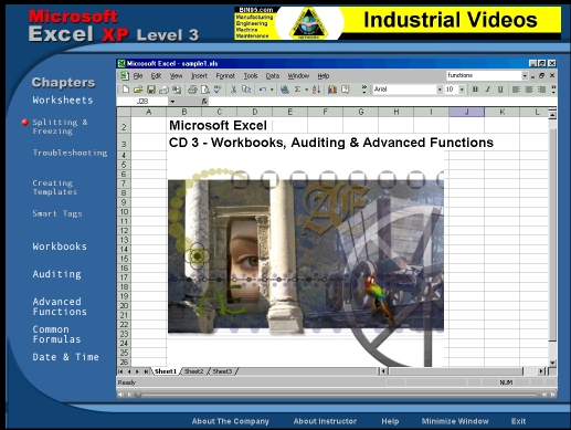 Free MS Excel Training Level 3 3.20