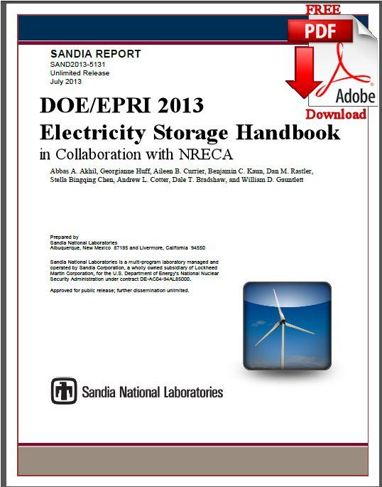 Electricity Storage Handbook 2013